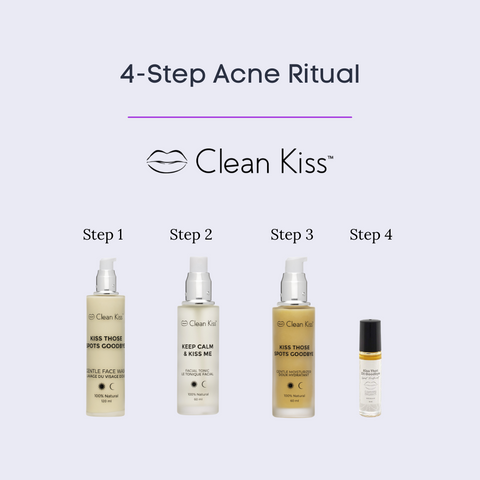 Natural Acne skincare products that work