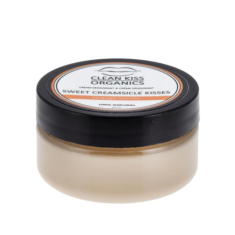 natural deodorant orange creamsicle kisses best selling deodorant