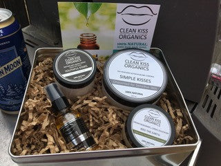 clean kiss organic fathers day gift pack