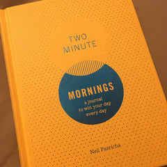 Two Minute Morning Gratitude Journal