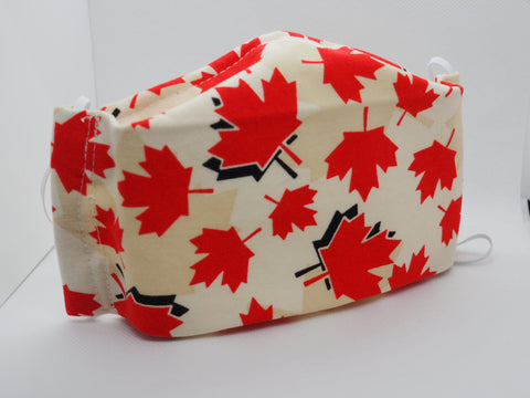 Clean Kiss maple leaf face mask for Canada Day