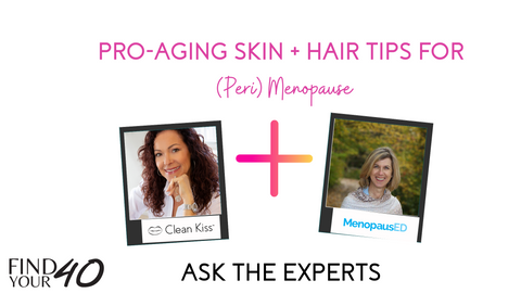 Skin and hair in midlife perimenopause