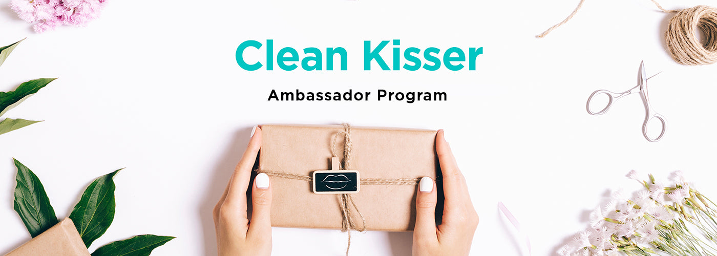 clean kiss organics ambassador program