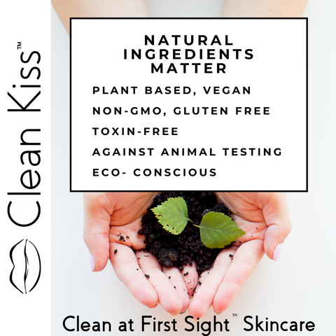 Natural plant based ingredients for anti aging skincare