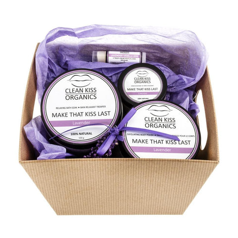 This all-natural gift set is perfect for anyone you love and who loves to take care of themselves!