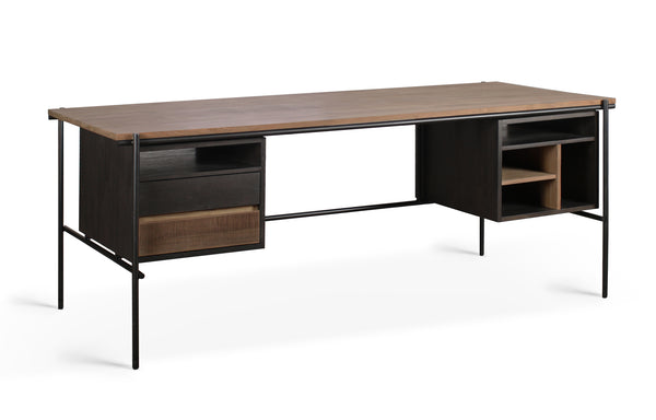Oscar Teak Desk by Ethnicraft.