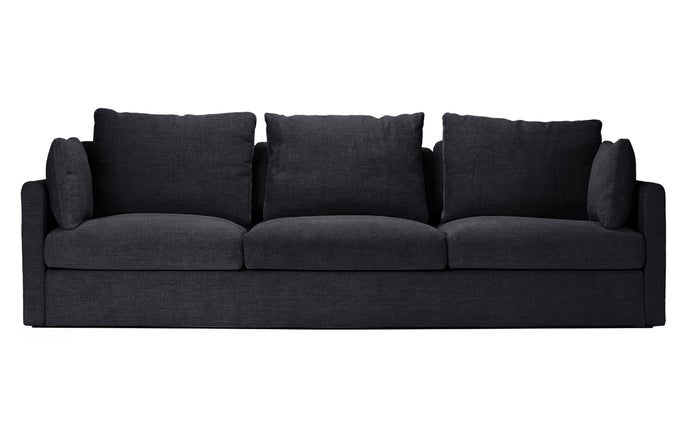 2026 3 Seat Sofa by Harbour - Black Linen Fabric.