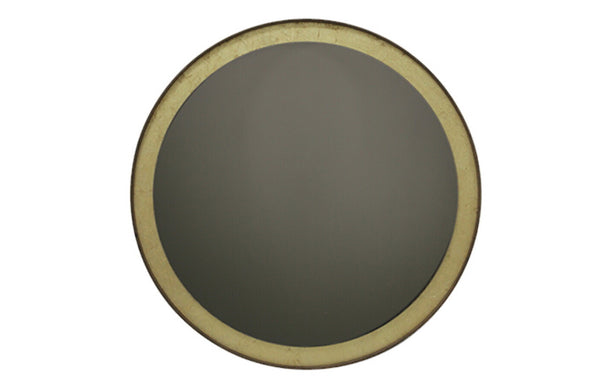 Gold Leaf Wall Mirror by Ethnicraft.
