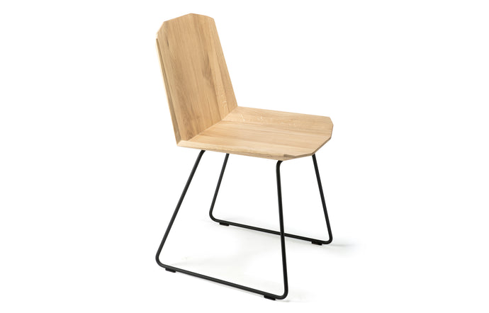 Facette Oak Chair by Ethnicraft.