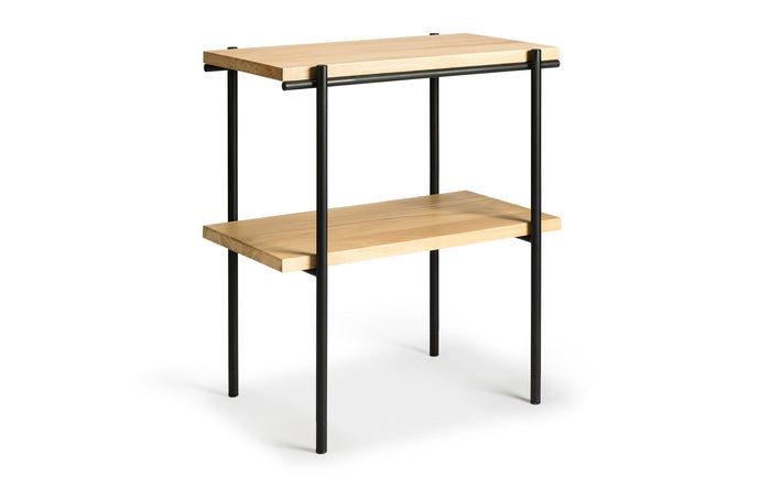 Rise Oak Rectangular Side Table by Ethnicraft.