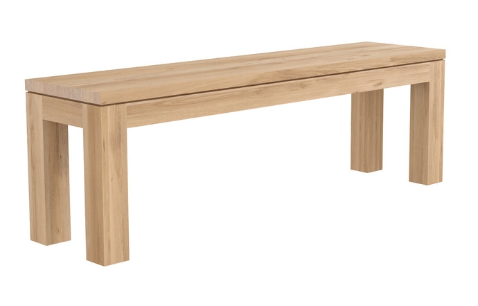 Straight Oak Bench by Ethnicraft - 55