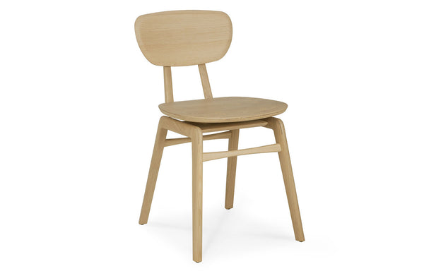 Oak Pebble Dining Chair by Ethnicraft.