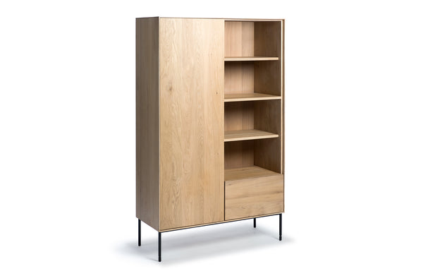 Whitebird Oak Storage Cupboard by Ethnicraft.