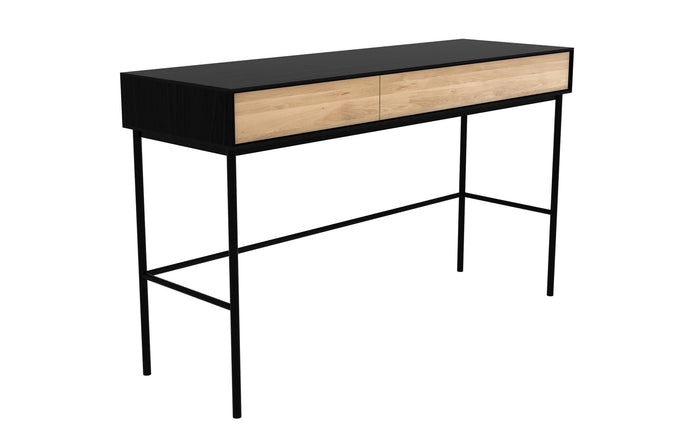 Blackbird Oak Desk - 2 Drawers by Ethnicraft.
