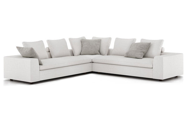 Lucerne Corner Sectional Sofa by Modloft.