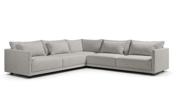 Basel Corner Sectional Sofa by Modloft.