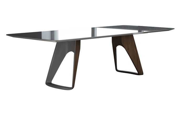 Preston Dining Table by Modloft Black.