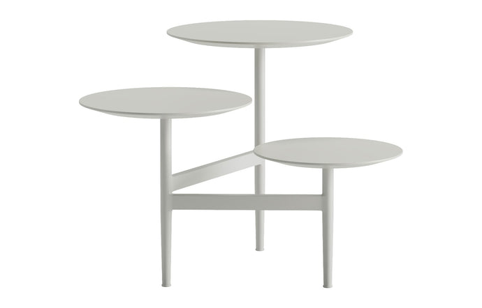 Hatton Side Table by Modloft - Ice.