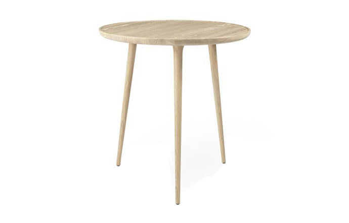 Accent Cafe Table by Mater - Mat Lacqured Oak.