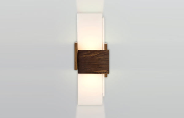 Acuo Sconce by Cerno - Walnut.