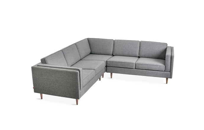 Adelaide Bi-Sectional by Gus Modern - Andorra Pewter.