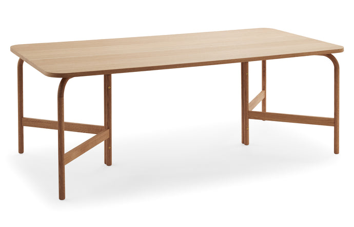 Aldus Dining Table by Skagerak - Oiled Oak Wood.
