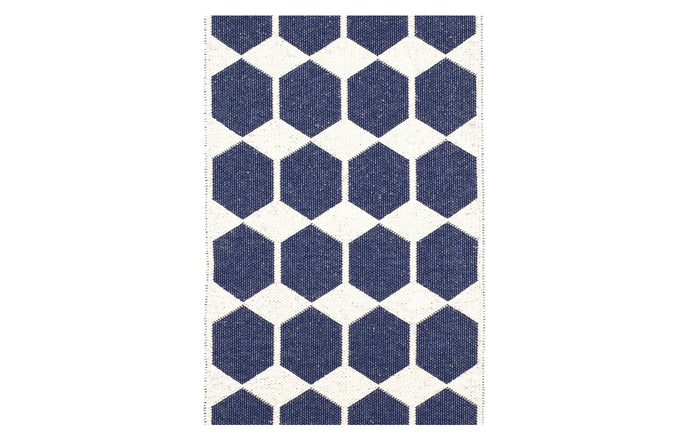 Anna Denim Blue Rug by Brita.