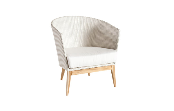 Arc Club Armchair by Point - White 35.