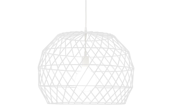 Array Pendant Chandelier by Bend - White.