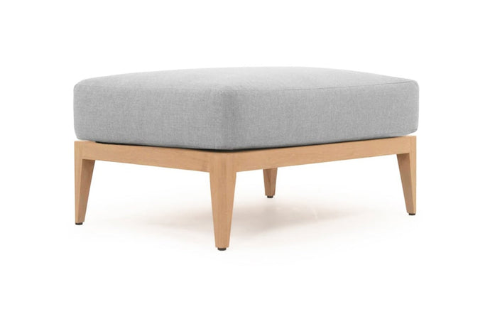 Avalon Ottoman by Harbour - Natural Teak.