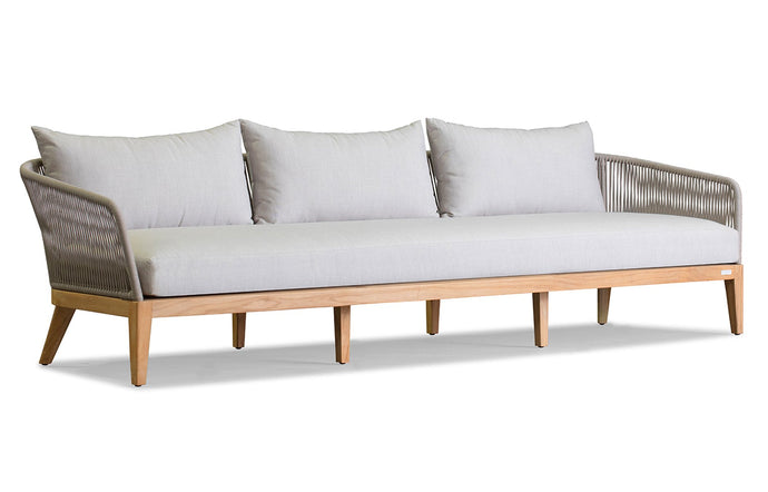 Avalon Three Seat Sofa by Harbour - Olefin Rope Grey.