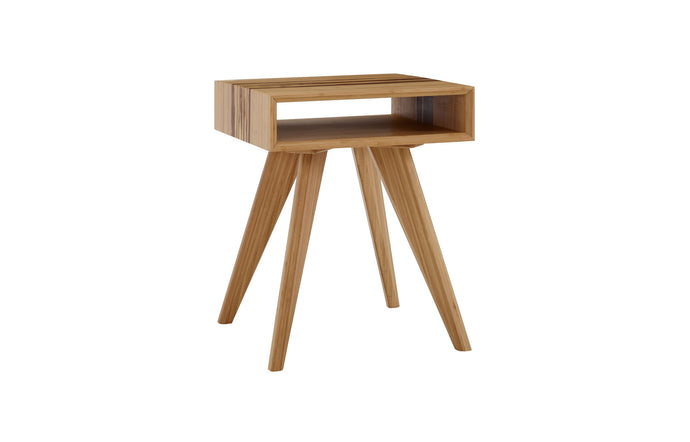 Azara End Table by Greenington - Caramelized/Exotic Tiger.