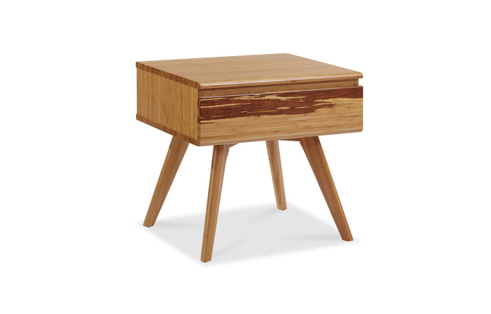 Azara Nightstand by Greenington - Caramelized Wood.