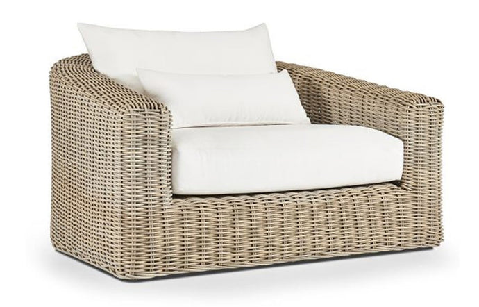 Barcelona Arm Chair by Harbour - Natural Weave.