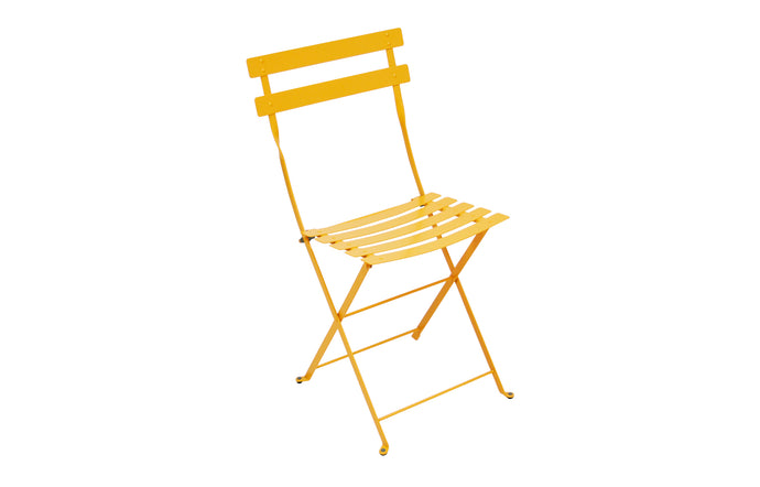 Bistro Metal Chair by Fermob - Honey (smooth metal)