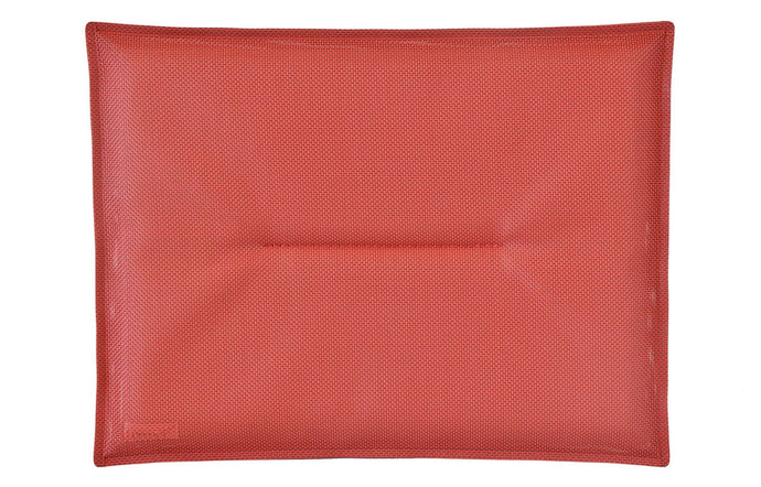 Bistro Outdoor Cushion by Fermob - Chili (matte textured)