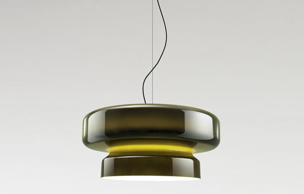 Bohemia 84 Pendant Lamp by Marset - Green Shade.