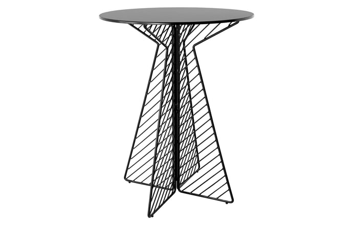 Cafe Round Bar Table by Bend - Black.