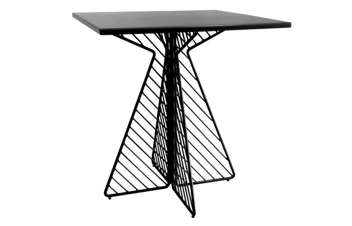 Cafe Square Table by Bend - Black.