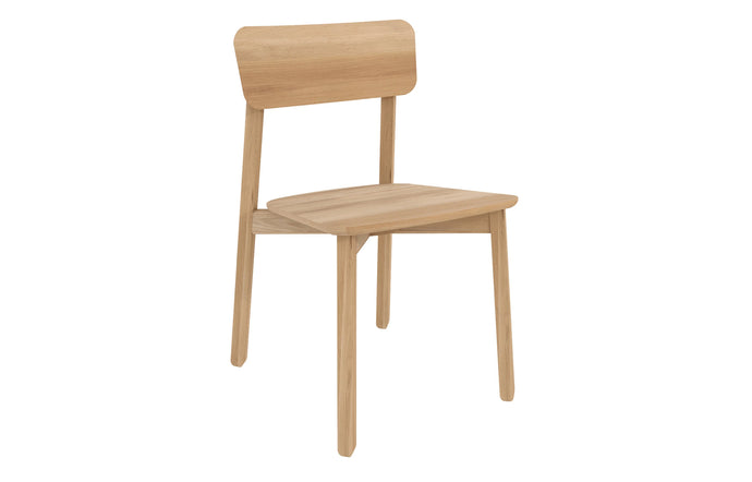 Casale Dining Chair by Ethnicraft - Natural Oak