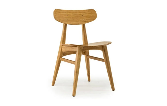Cassia Dining Chair by Greenington - Caramelized Wood.