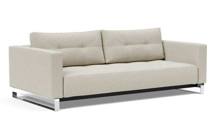 Cassius D.E.L. Sofa Bed by Innovation - 527 Mixed Dance Natural (stocked).