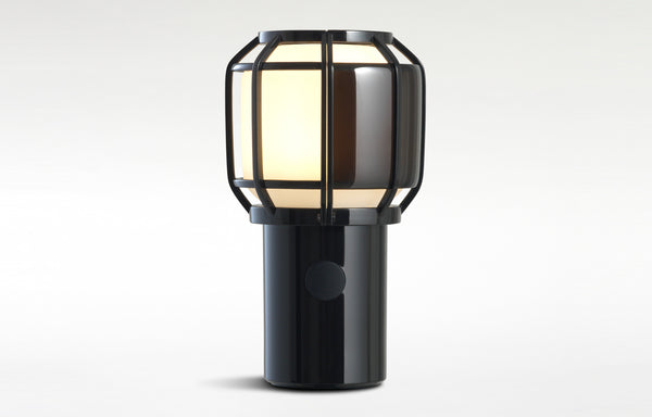 Chipsa Portable Lamp by Marset - Black Polycarbonate Base.