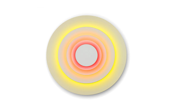 Concentric Wall Sconce by Marset - Corona Fluorescent Vinyls.