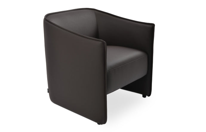 Conrad Lounge Chair by SohoConcept - Brown PPM.