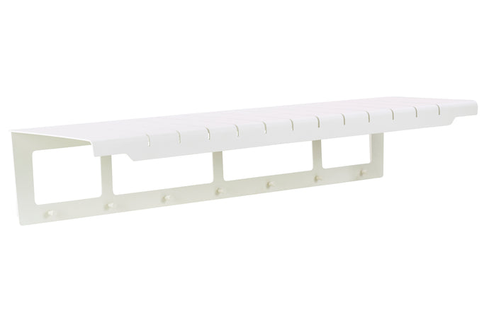 Copenhagen Coat Rack by Cane-Line - White Powder Coated Aluminum.