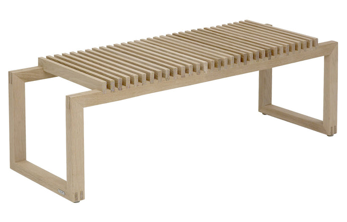 Cutter Bench by Skagerak - Natural Oak Wood.