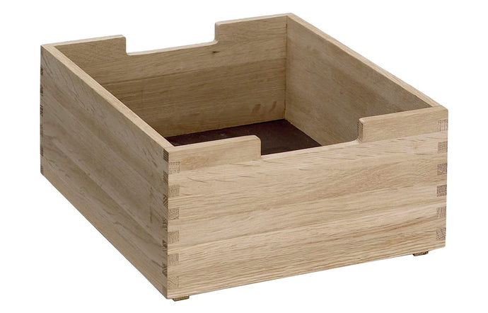 Cutter Box by Skagerak - Low, Natural Oak.
