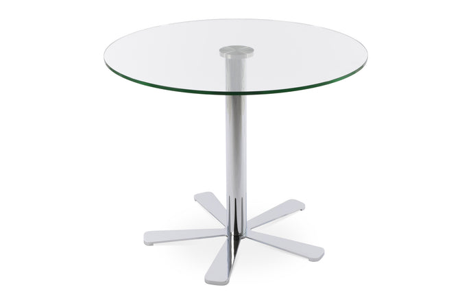 Daisy 5 Star Glass Dining Table by SohoConcept - 28