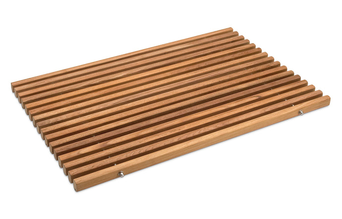 Dania Bathroom Mat by Skagerak - Teak.